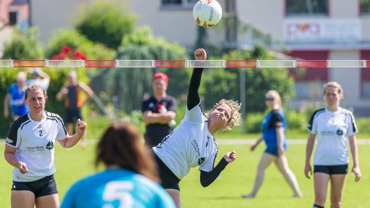 Die Frauen des STV Oberentfelden-Amsteg gingen in der dritten NLA-Runde leer aus.