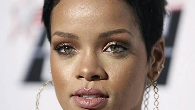 Die Sängerin Rihanna