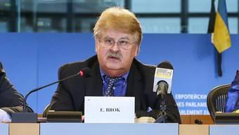 Eine einseitige Lösung werde Gegenmassnahmen zur Folge haben, so Elmar Brok. (Archiv)