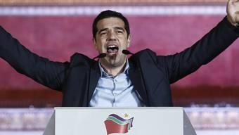 Der neue griechische Premier Alexis Tsipras (Archivbild)