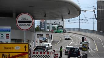 Zollübergang Basel / Weil am Rhein Grenze Grenzübergang Zoll