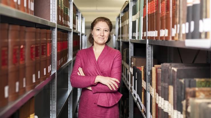 Pascale Marder aus Baden arbeitet im Stadtarchiv in Schlieren und auch als Autorin.