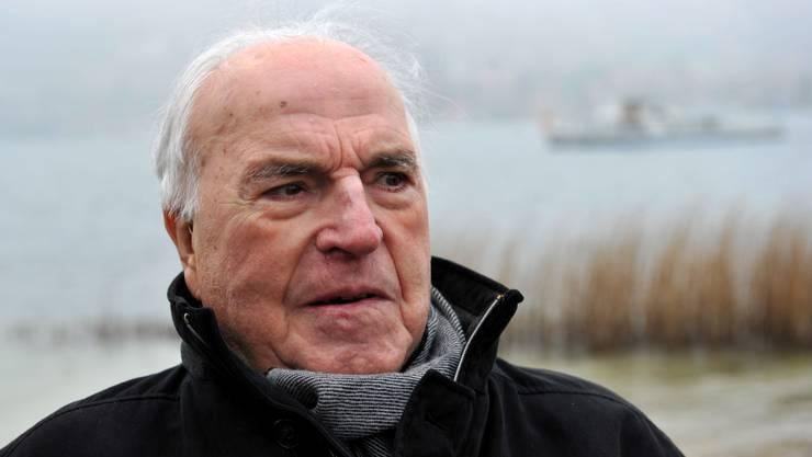 Helmut Kohl ist am 16. Juni 2017 gestorben.