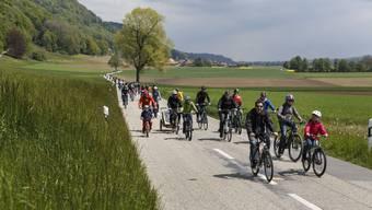 Dieses Jahr wird dies nicht möglich sein: In Massen durch den Bucheggberg fahren. (Archiv)