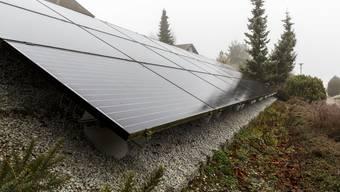 Diese Solaranlage soll abmontiert werden.