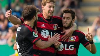 Admir Mehmedi feierte einen erfolgreichen Einstand bei Bayer Leverkusen
