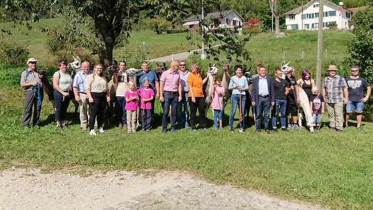 CVP Familie bei der Mühle Ramiswil