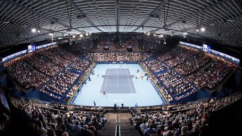 Die diesjährige Ausgabe des Basler ATP-Tennisturniers findet dieses Jahr vom 22. bis 30. Oktober in der St. Jakobshalle statt. (Archiv)