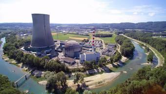 Derzeit rüstet das Atomkraftwerk Gösgen nach.