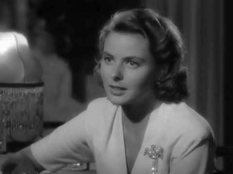 Ingrid Bergman im Film Casablanca