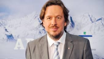 ARD EXPERTE J?RG KACHELMANN FREUT SICH AUF DIE OLYMPISCHEN WINTERSPIELE 2010 VON VANCOUVER BEI DER PR?SENTATION IN BERLIN