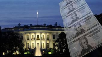Über dem Weissen Haus schwebt die Last des Staatsbankrotts.