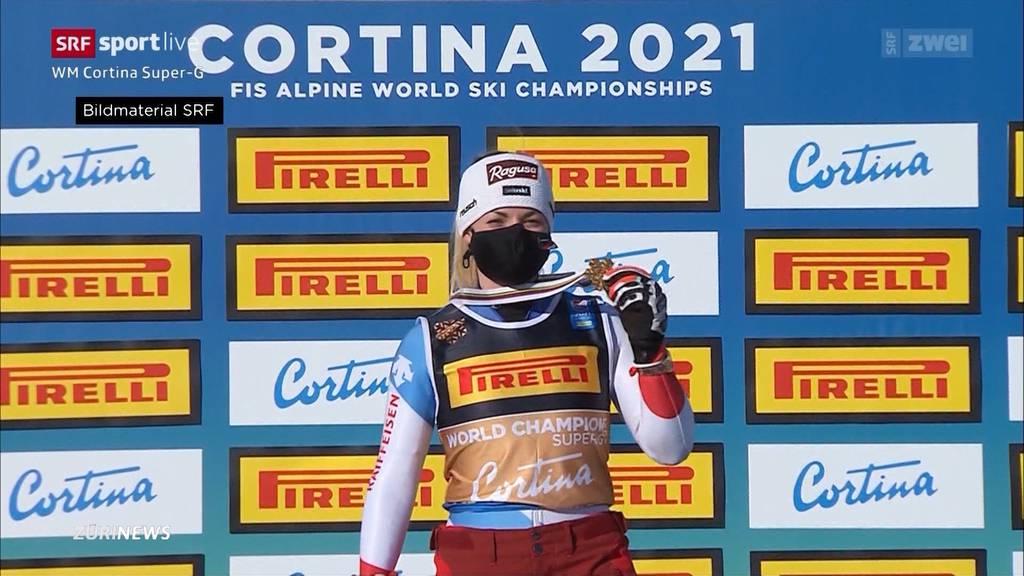 Traumstart in die Ski-WM: Lara Gut-Behrami holt Gold, Corinne Suter Silber