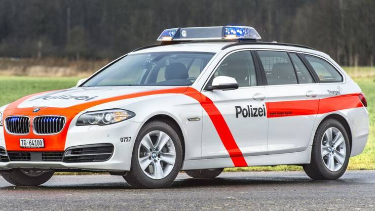 Die Thurgauer Kantonspolizei fahndete nach einem Häftling, der am Donnerstagmorgen bei einem Arztbesuch geflohen ist. Kurz nach 14 Uhr wurde er gefasst. (Archivbild)