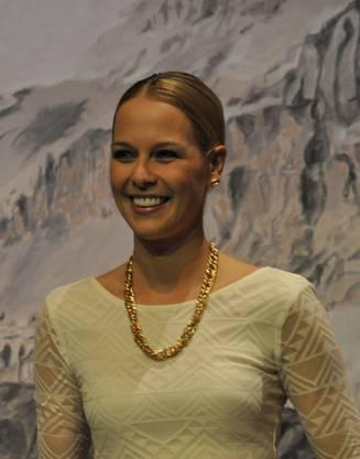 Ex-Miss-Schweiz Linda Fäh moderierte den Anlass.