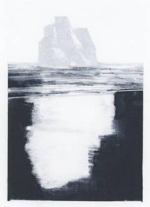 Maria Bills Eisberge, Monotypie.
