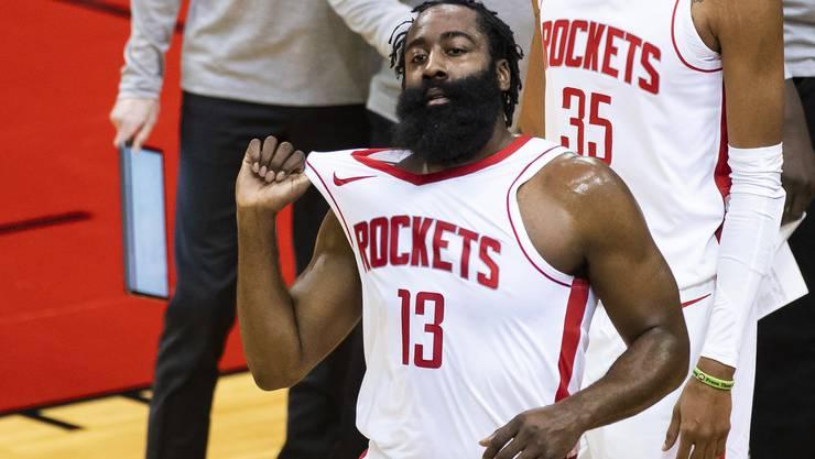 Mit den Houston Rockets hat James Harden schon länger abgeschlossen. Nun folgt der Wechsel nach New York.