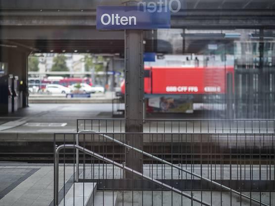 Der Bahnhof Olten