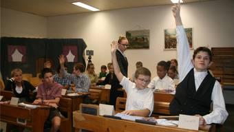 Feier zu 200 Jahren Bezirksschule Bad Zurzach