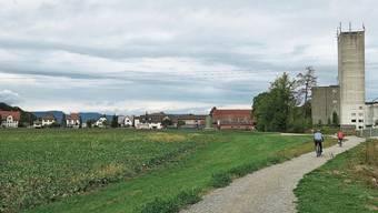 Die zehn Hektaren Landwirtschaftsland sollen integral gerettet werden, finden die Initianten.