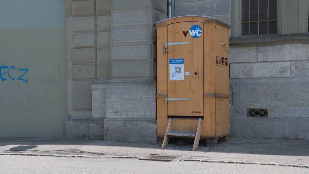 9 neue Kompost-WCs für Zürich