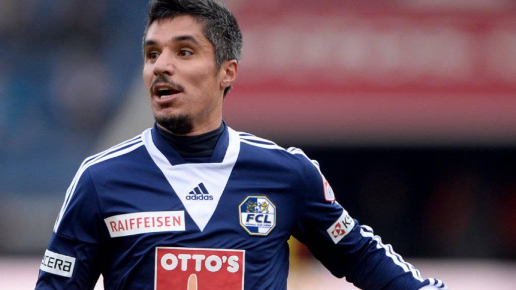 Cristian Ianu wird von Luzern an Wohlen ausgeliehen