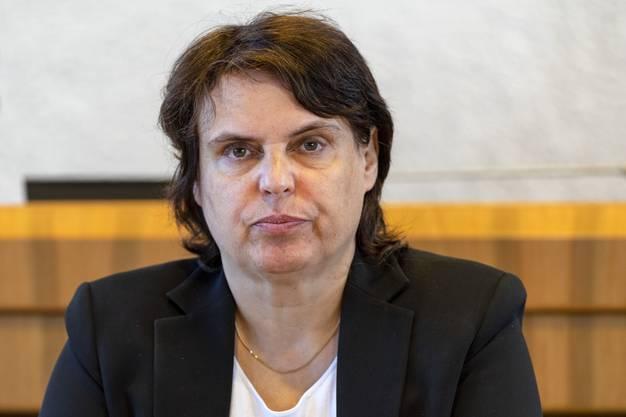 Stürzte ab: Regierungspräsidentin Elisabeth Ackermann.