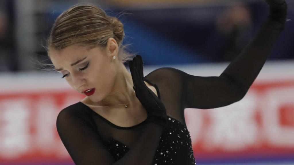 Alexia Paganini zeigte in Moskau eine solide Leistung
