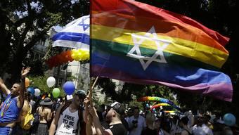 Teilnehmende an der Gay Pride in Tel Aviv