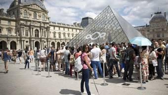 Das Louvre ist beliebt - und liegt direkt an der Seine