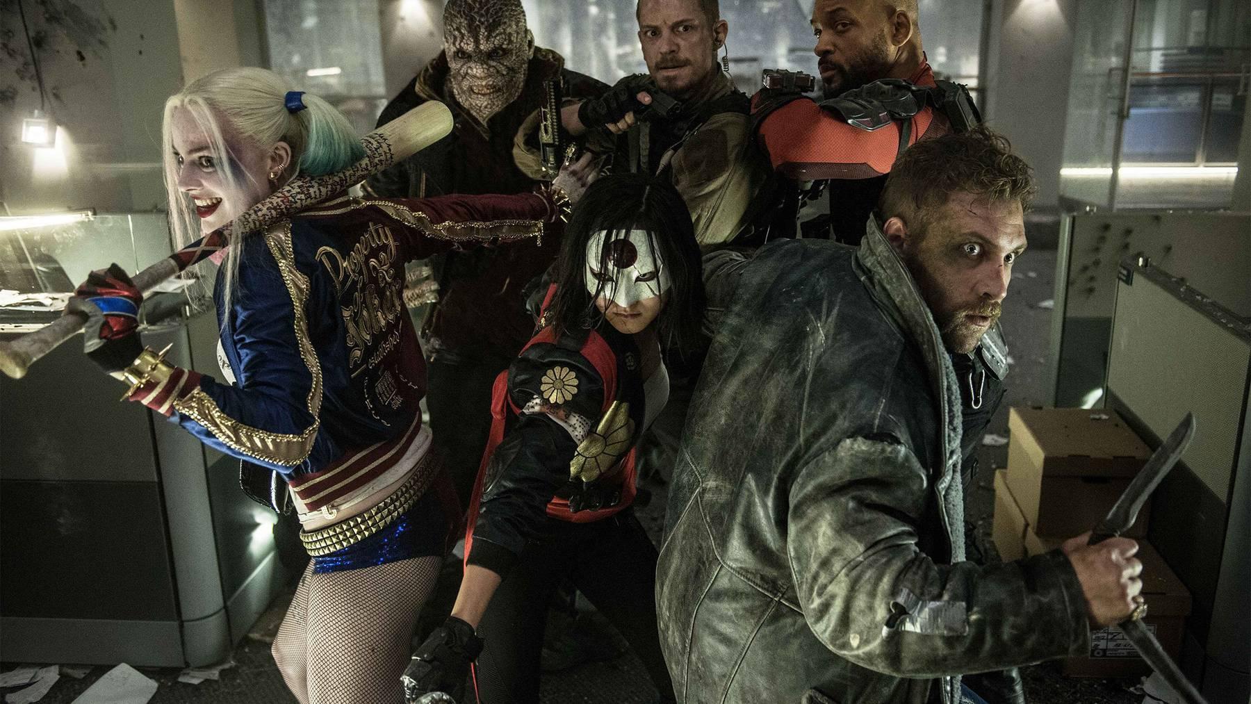 Das sind die Mitglieder des Suicide Squads