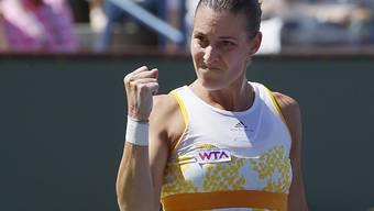Flavia Pennetta ballt die Faust: Sieg im Final von Indian Wells