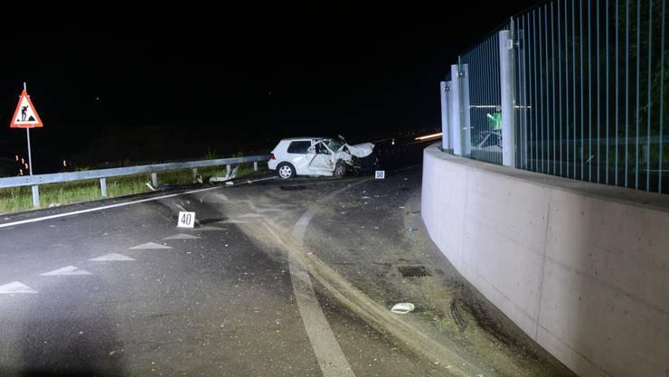 Am Sonntagabend, kurz nach 22 Uhr kam es auf der Münchensteinerstrasse im Verzweigungsgebiet Ausfahrt A 18 in Muttenz zu einem Selbstunfall.