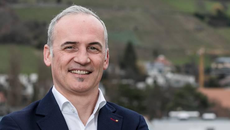 Christian Pauli Einwohnerratspräsident (FDP): «Ich wusste gar nicht, dass wir uns bereits in einem Wahljahr befinden.»