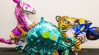 Die «Mäss»-Ballone haben alle schlapp gemacht.