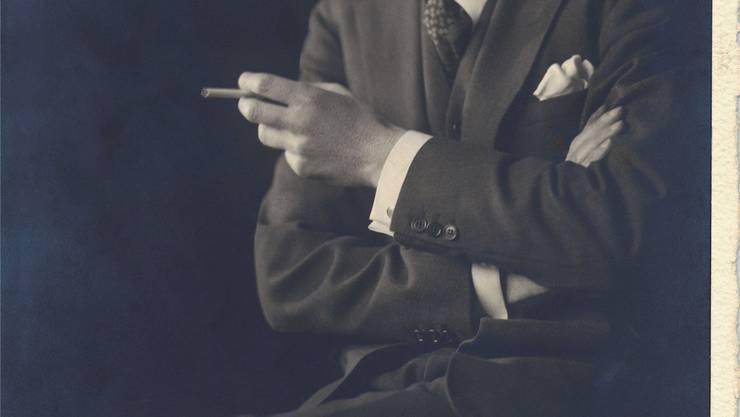 Der Komponist Arthur Lourié.