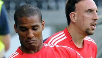 Das waren noch Zeiten: Florent Malouda in der Nationalmannschaft mit Franck Ribéry