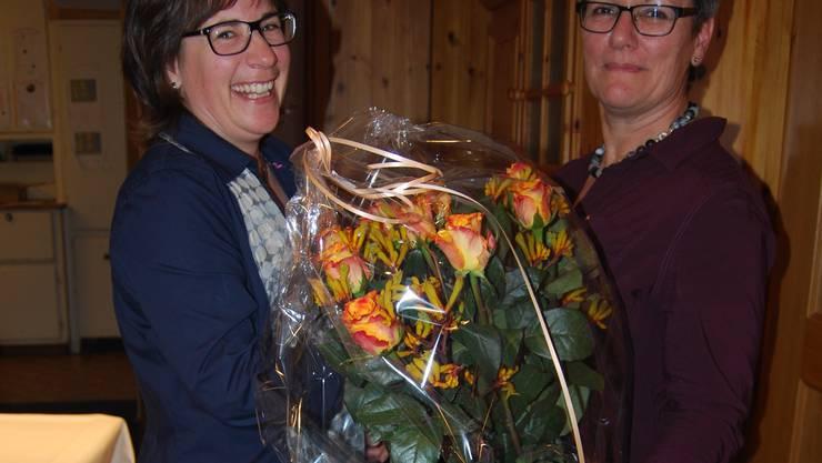 Die Samariter danken Maja Sandmeier herzlich für ihren langjährigen und engagierten Einsatz in den verschiedensten Funktionen und hoffen, sie bleibt dem Verein noch lange als aktive Stütze erhalten.