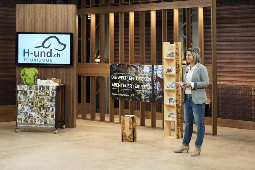 Bekommt Livia Waser aus Uznach Unterstützung von de Investoren der Sendung «Höhle der Löwen»? (Bild: pd)