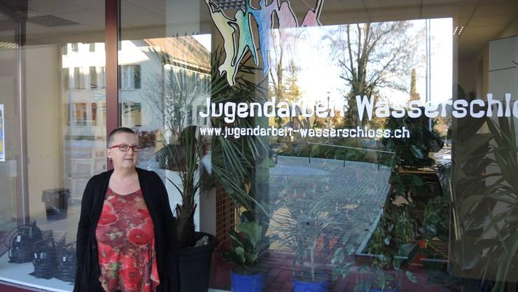 Manuela Gauch von der Jugendarbeit Wasserschloss hatte sich für den neuen Jugendtreff engagiert