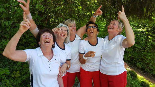 Das Team von links nach rechts: Flo, Ute, Trix, Rita und Monika.