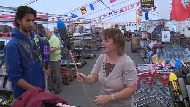 Feuerwerks-Verkäufer dürfen aufatmen