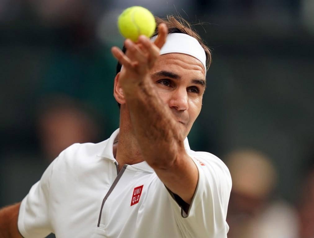 Roger Federer in Wimbledon (© Keystone)