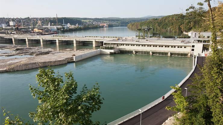 Seit 2010 ist das neue Wasserkraftwerk Rheinfelden in Betrieb. zvg