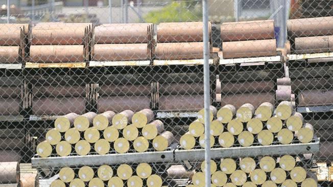Die Metallvorräte in Dornach sind weiter unter Verschluss, und die Produktion bleibt gestoppt