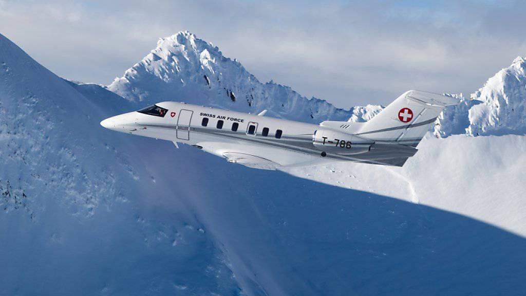 Schöne Flugis für Schweden: Der Schweizer Flugzeugbauer liefert sechs Stück der PC-24 nach Skandinavien (Archivbild).