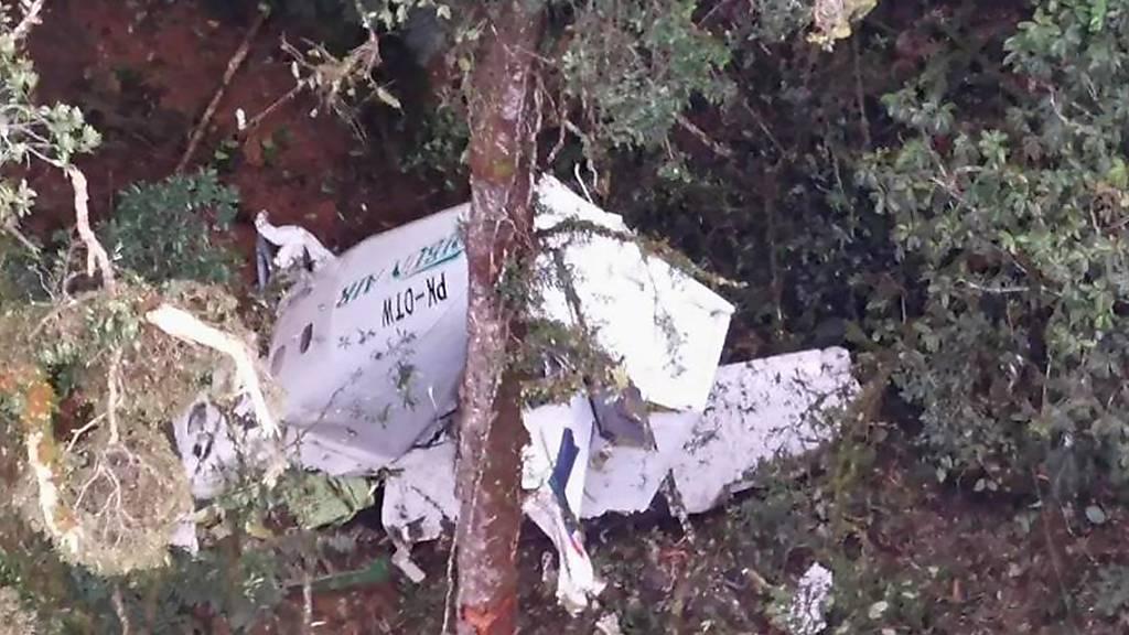 Frachtflugzeug im Dschungel der Provinz Papua abgestürzt