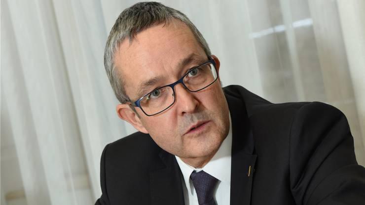 Überzeugt von der Richtigkeit der Spitalfusion: Der Baselbieter Gesundheitsdirektor Thomas Weber musste im Landrat viel Kritik einstecken.
