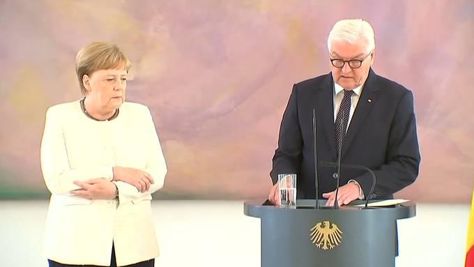 Erneuter Zitteranfall bei Angela Merkel