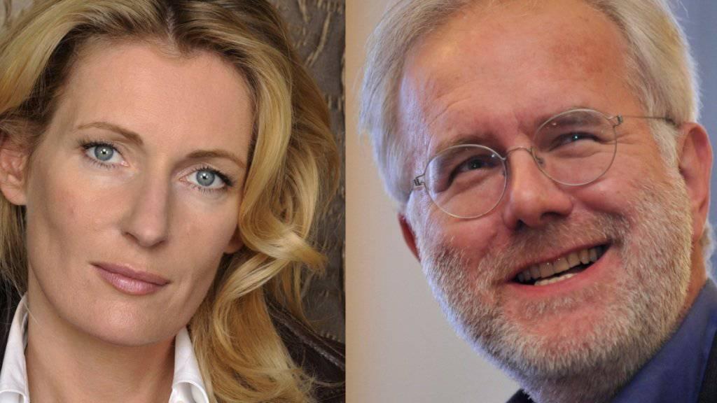 """Ein neuer Chef für """"Tatort""""-Kommissarin Charlotte Lindholm (Maria Furtwängler): Harald Schmidt spielt fortan den Vorgesetzten der Ermittlerin (Archiv)."""